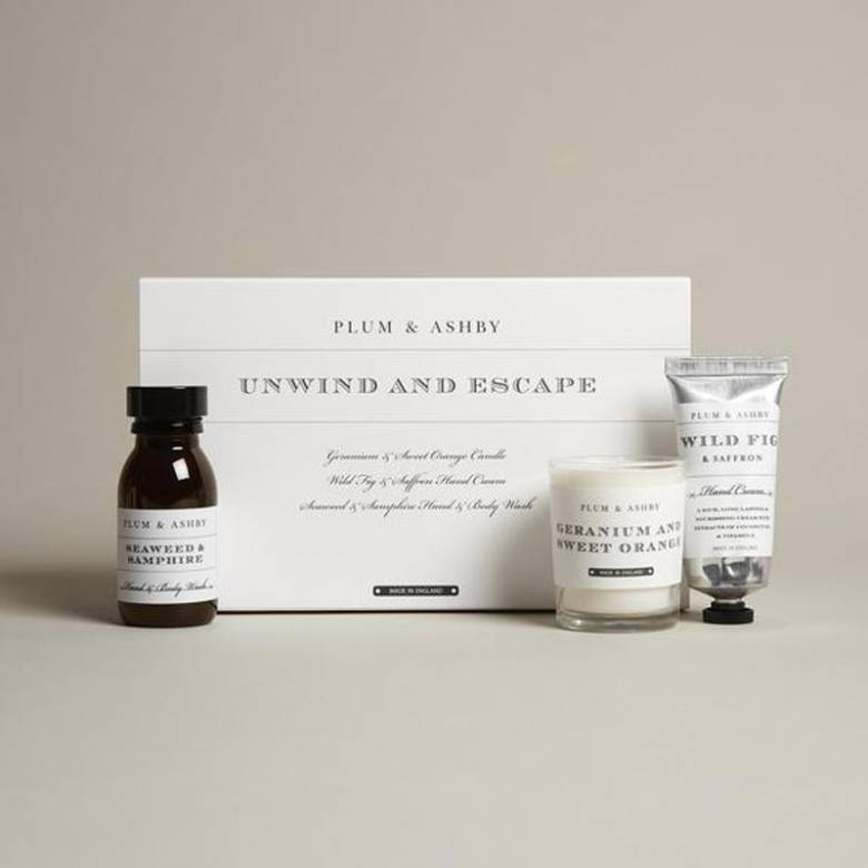 Unwind & Escape Boxed Gift Set