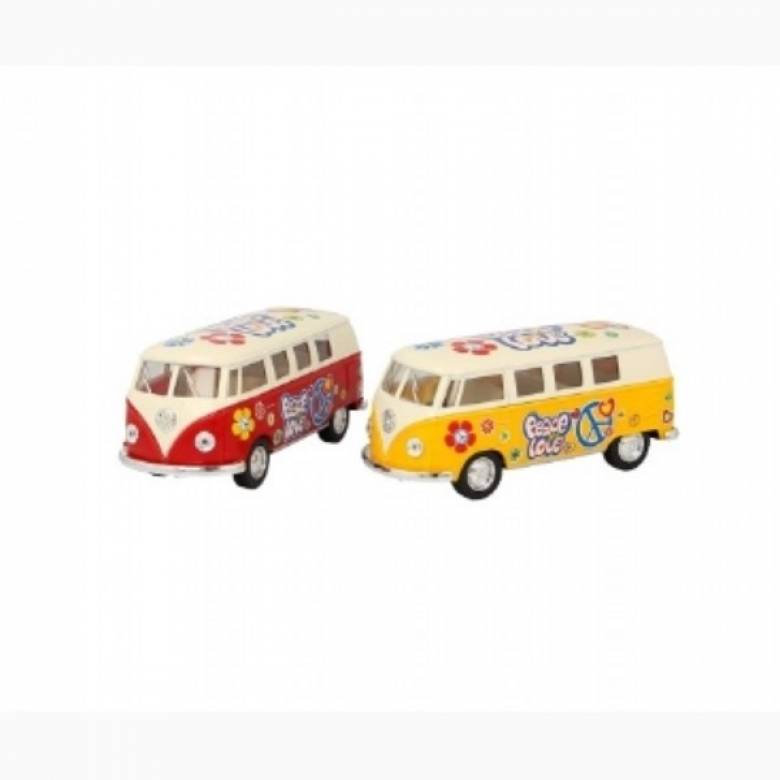 VW Camper Bus Die Cast Toy Car  1:32 Assorted Single Assorted