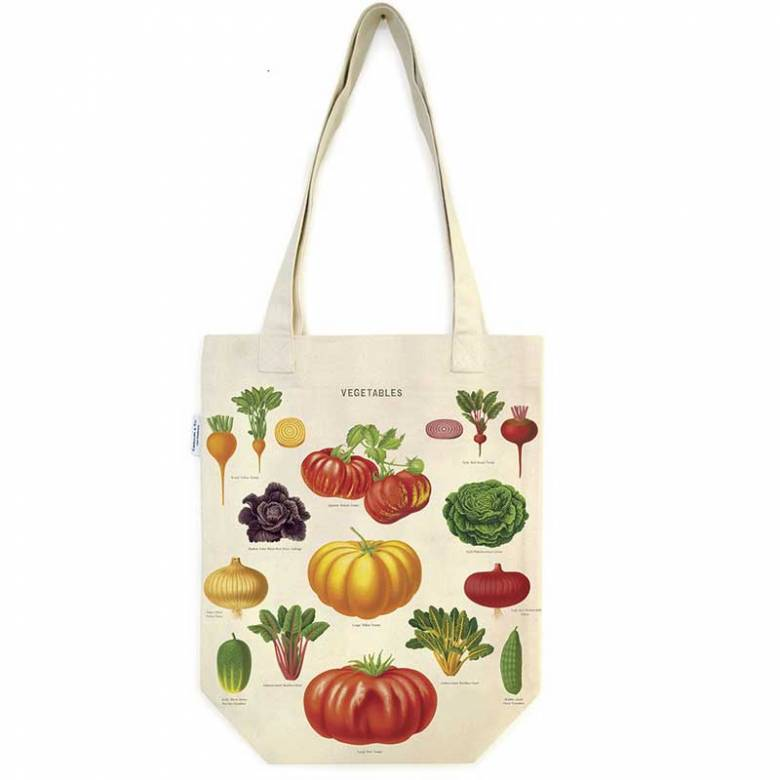 Vegetable Garden Cotton Tote Bag