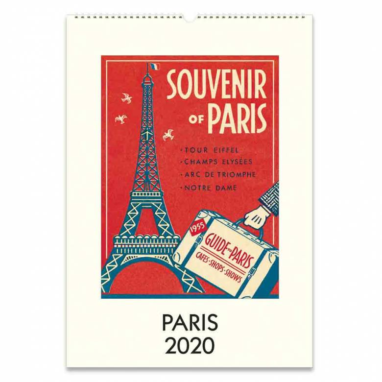 Paris Wall Calendar By Cavallini