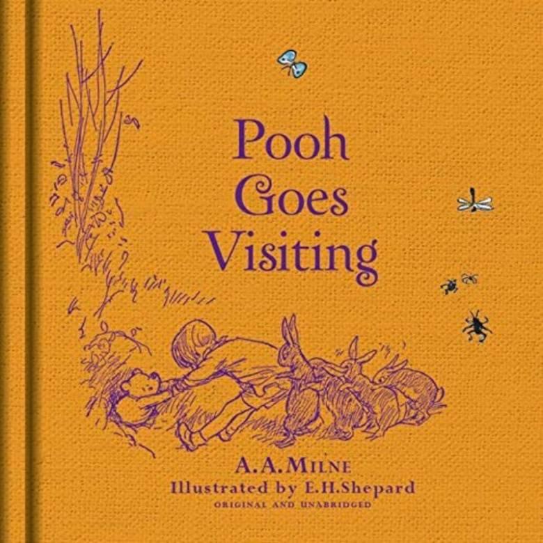 Winnie-the-Pooh: Pooh Goes Visiting - Hardback Book