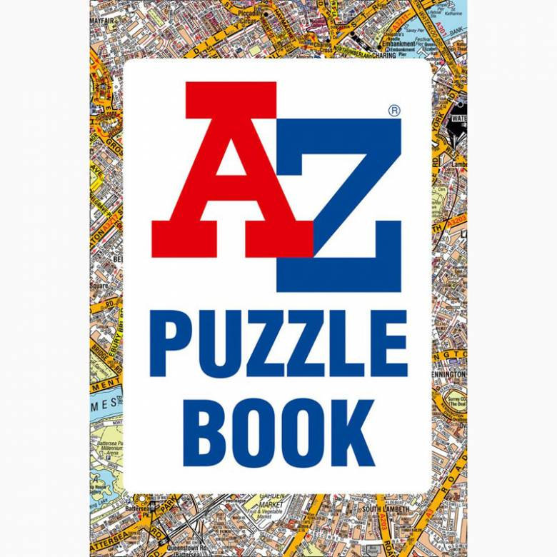 A-Z Puzzle Book - Paperback Book