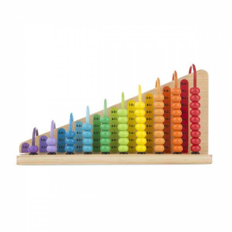 Rainbow Add & Subtract Abacus 3+