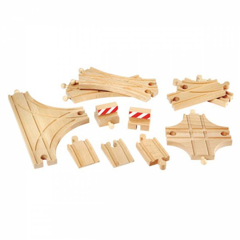Advanced Expansion Track  BRIO® Wooden Railway Age 3+