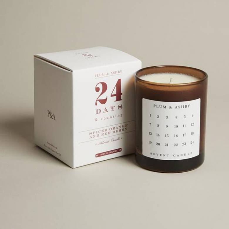 Advent Candle Spiced Orange and Red Berry