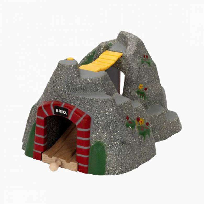 Adventure Tunnel BRIO Wooden Railway Age 3+