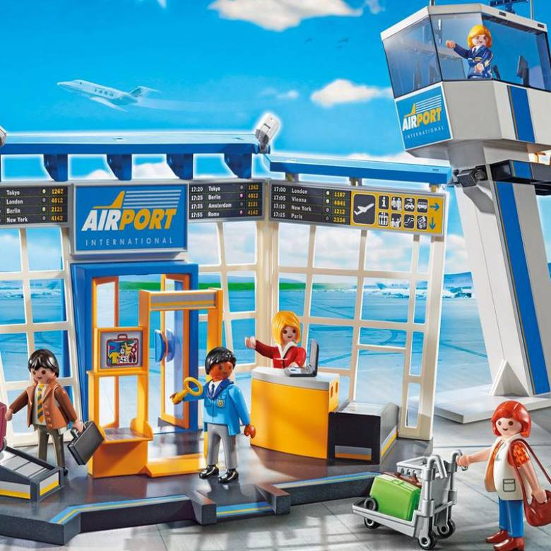 Airport With Control Tower Playmobil City Action 5338 4-10yrs