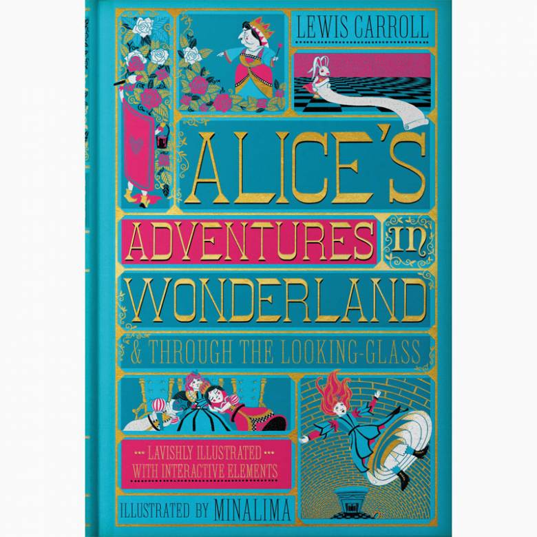 Alice's Adventures in Wonderland - Minalima Illustarted Hardback