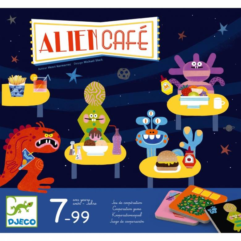 Alien Cafe - Cooperation Game 7+