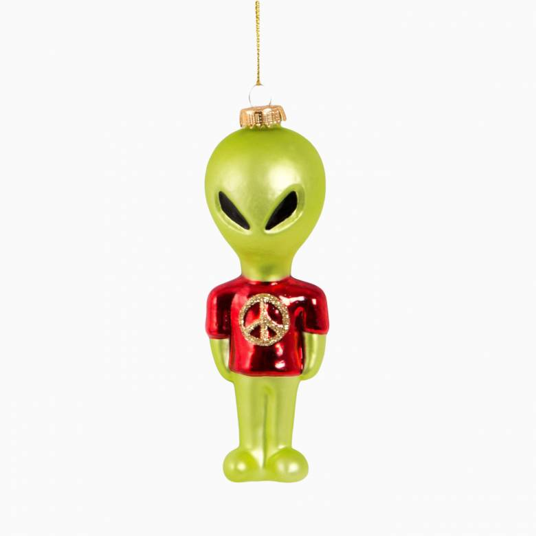 Alien Glass Christmas Decoration