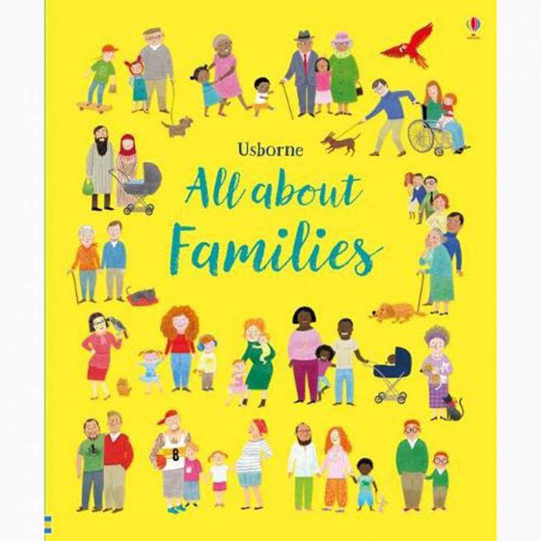 All About Families - Hardback Book