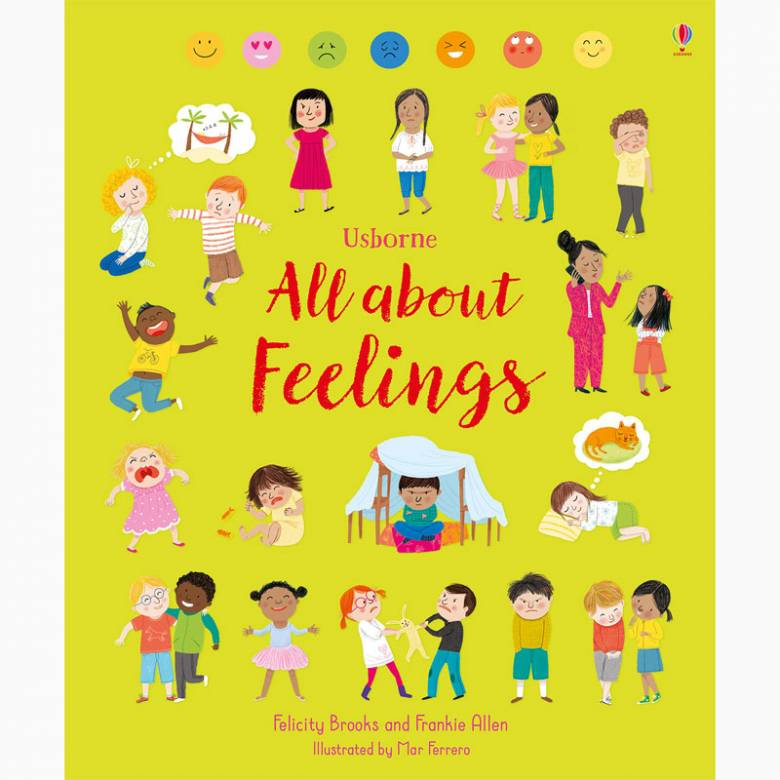 All About Feelings - Hardback Book