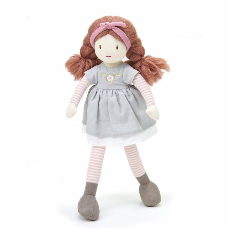 Alma Autumn Rag Doll Toy 3+