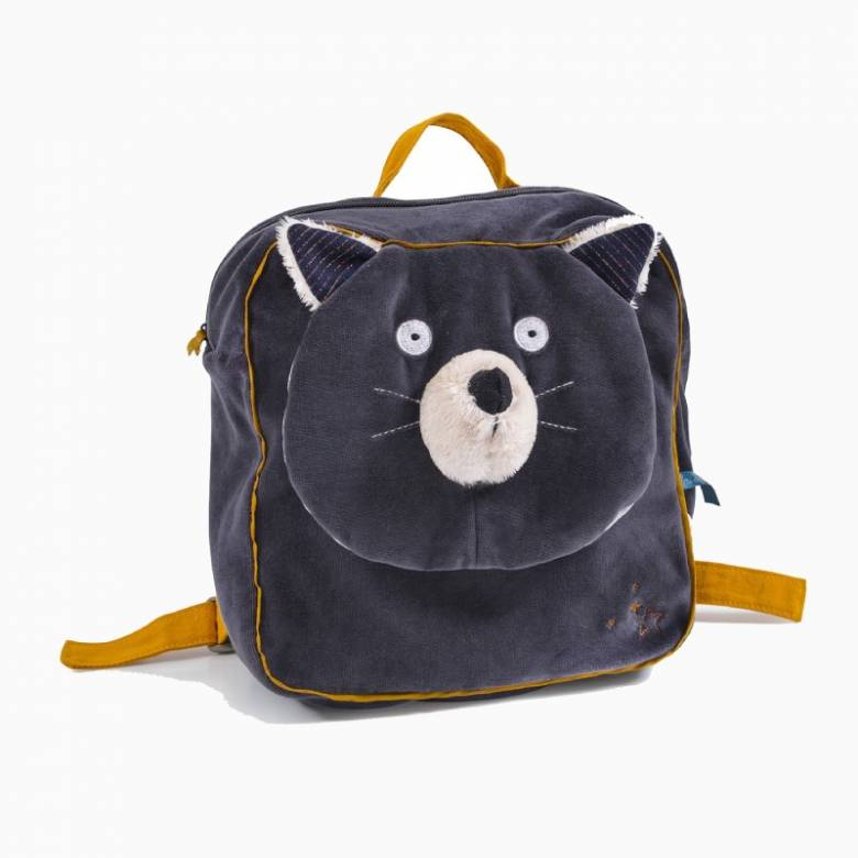 Alphonse The Cat Soft Backpack Les Moustaches 3+