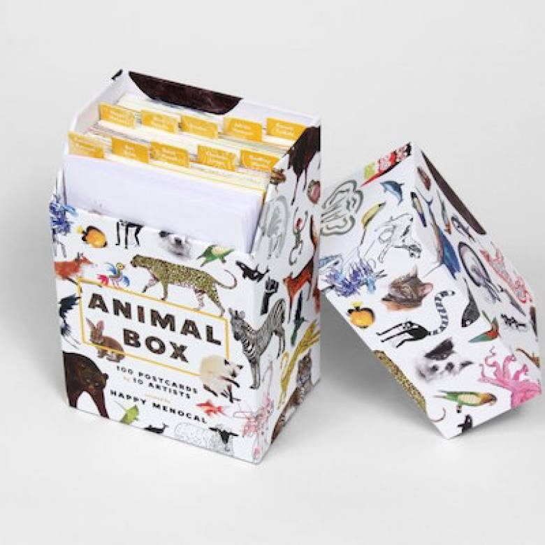 Animal Box - 100 Postcards Boxed Set