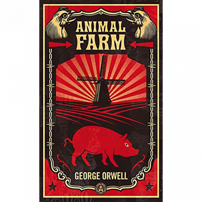 Animal Farm By George Orwell Paperback Book