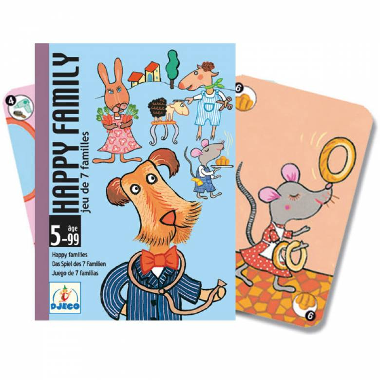 Happy Families Game -Animal Happy Families 5-99+yrs