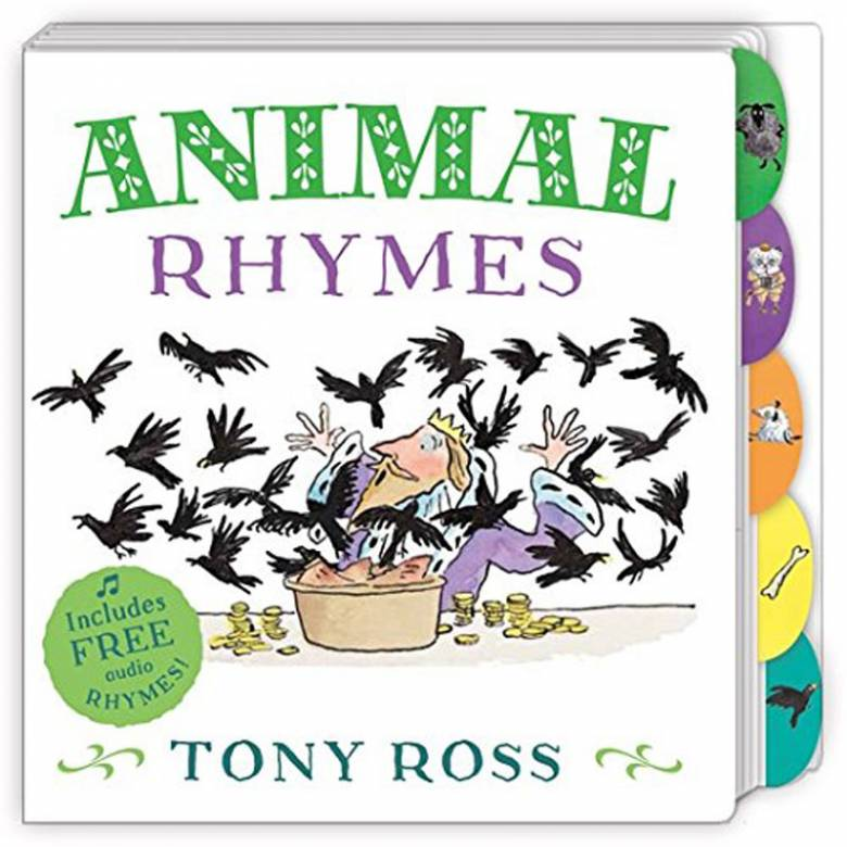 Animal Rhymes By Tony Ross - Board Book