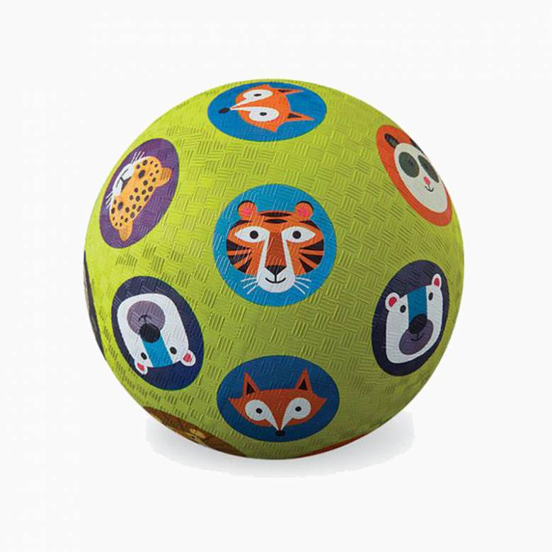 Animalia - Large Rubber Picture Ball 18cm