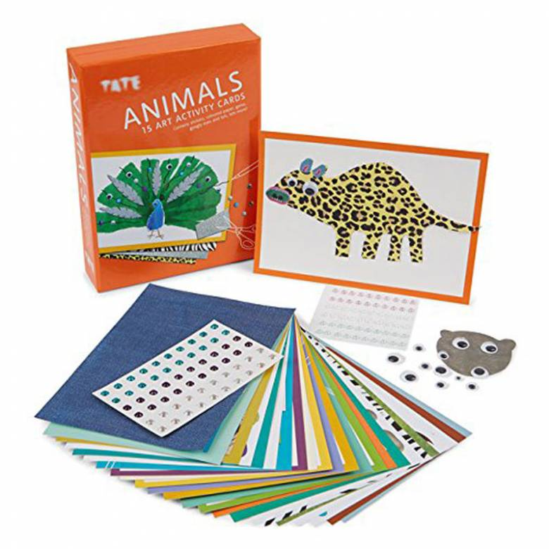 Animals Art Activity Cards