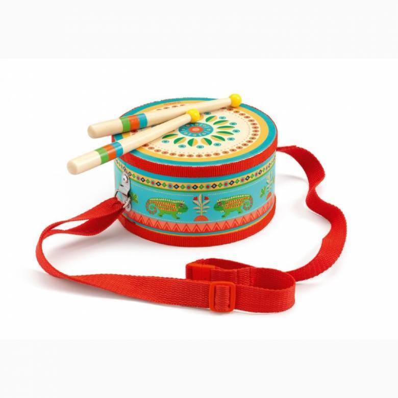 Animambo Hand Drum Instrument By Djeco 2+