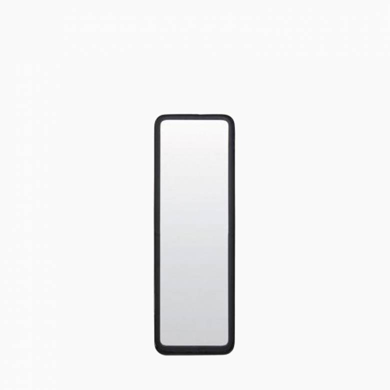 Black Rectangular Annis Mirror Small 60cml
