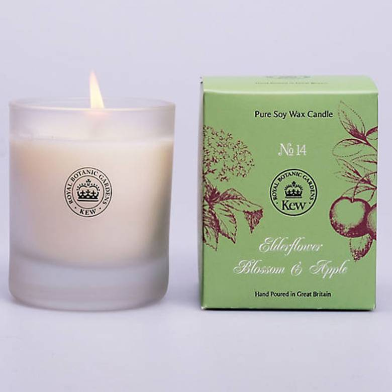 Apple And Elderflower Candle Kew Botanical Candle 142g