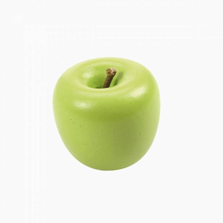 Single Wooden Food Apple Red / Green