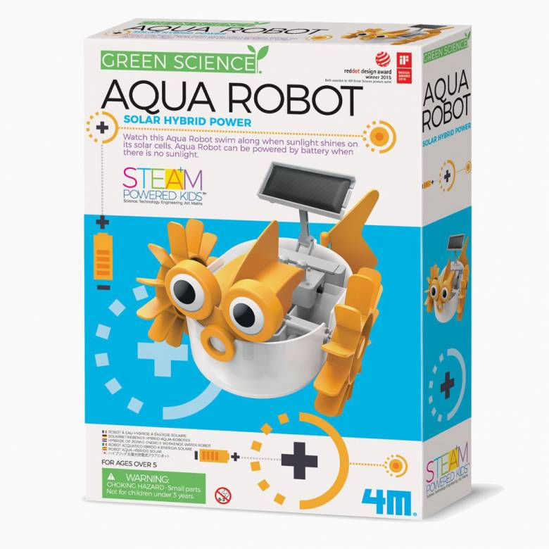 Aqua Robot - Solar Hybrid Power Science Kit 5+