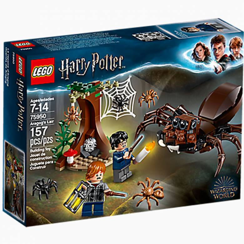LEGO® Harry Potter Aragog's Lair 75950