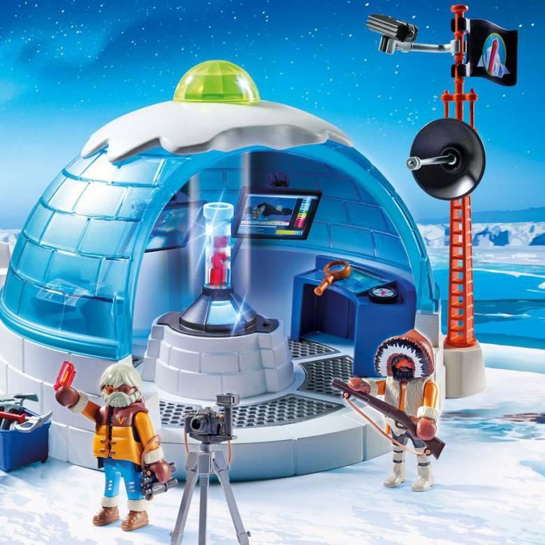 Arctic Expedition Headquarters Playmobil 9055