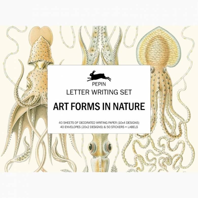 Artforms In Nature - Letter Writing Set