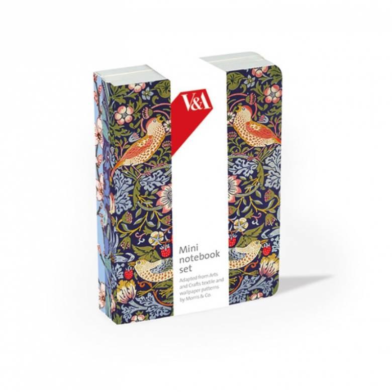 Arts & Crafts Set Of 3 Mini Notebooks
