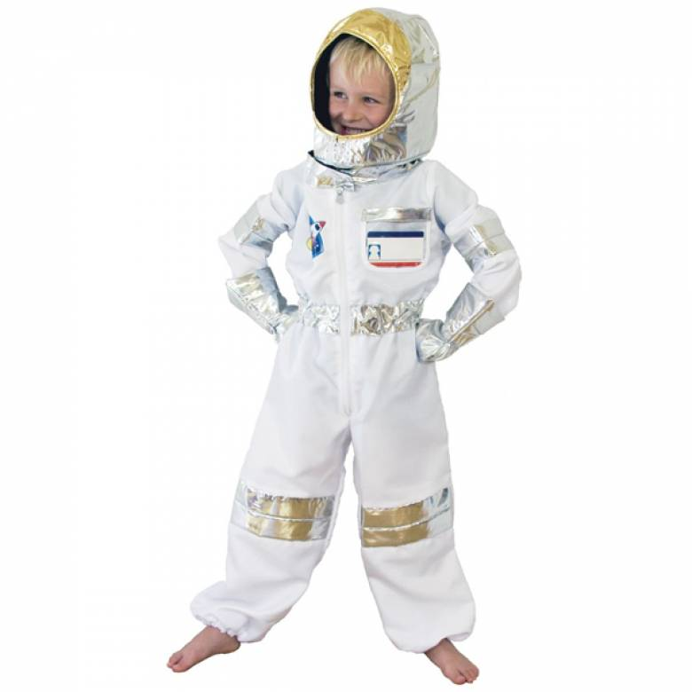 Astronaut Fancy Dress Role Play Costume Set