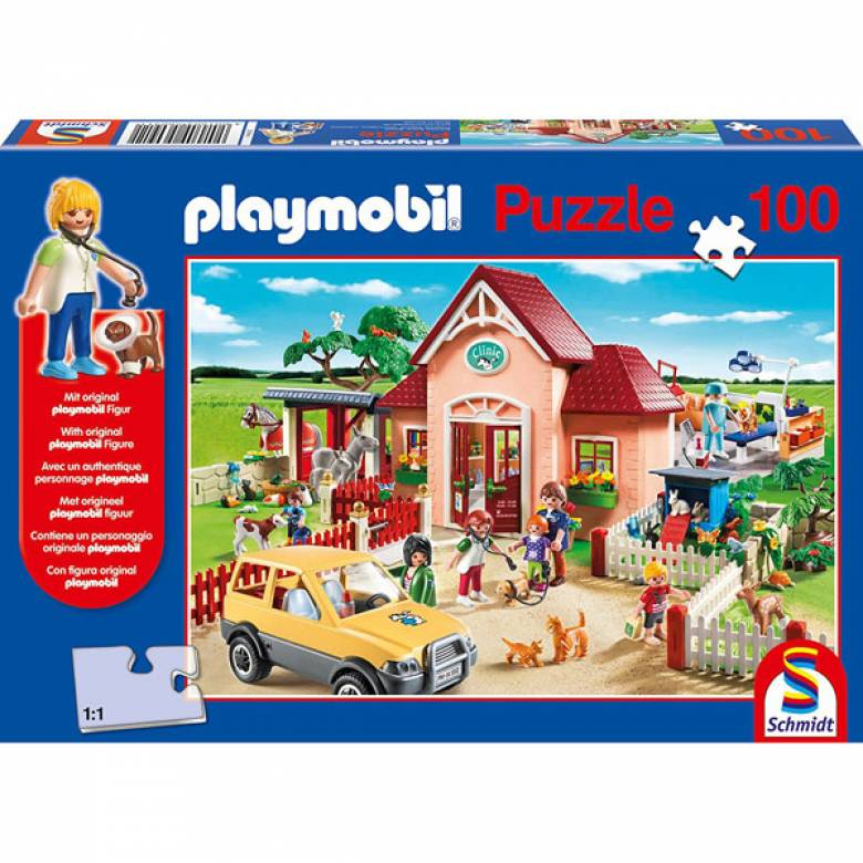 Playmobil At The Vet 100 Piece Jigsaw Puzzle