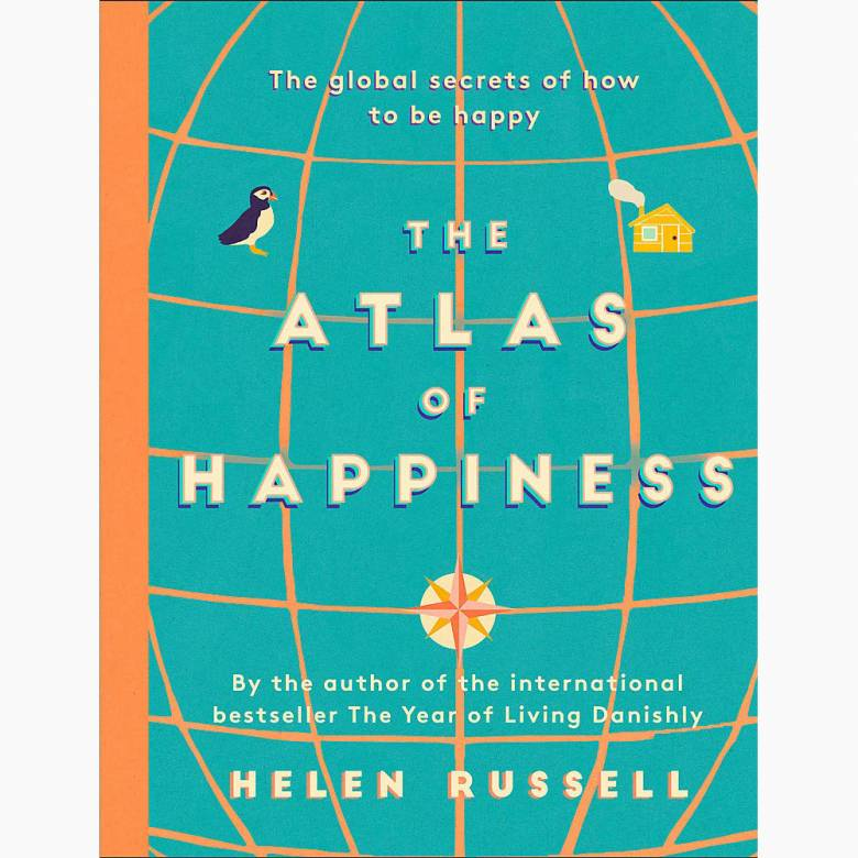 Atlas Of Happiness - Hardback Book