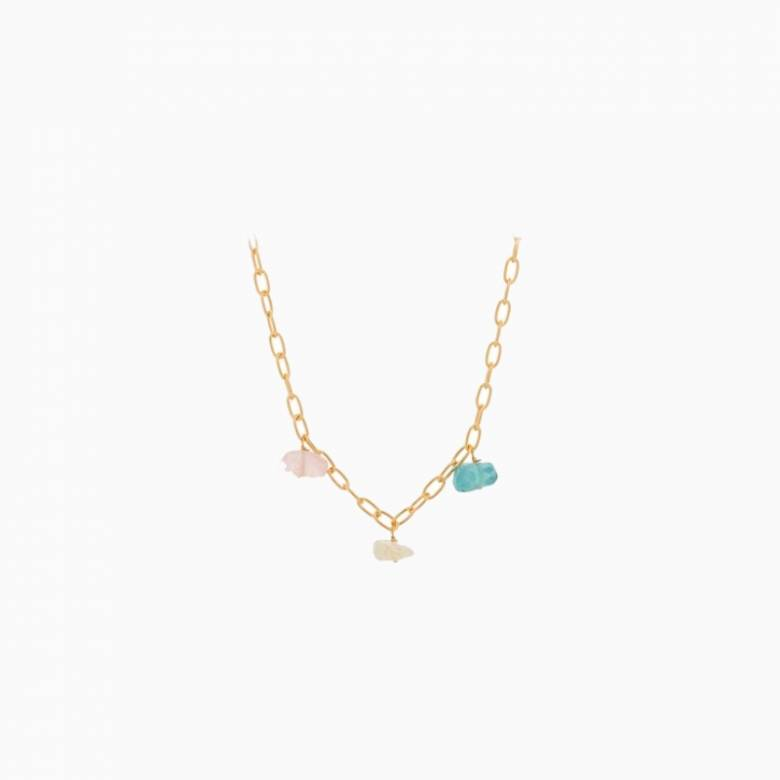 Aurora Necklace In Gold By Pernillle Corydon