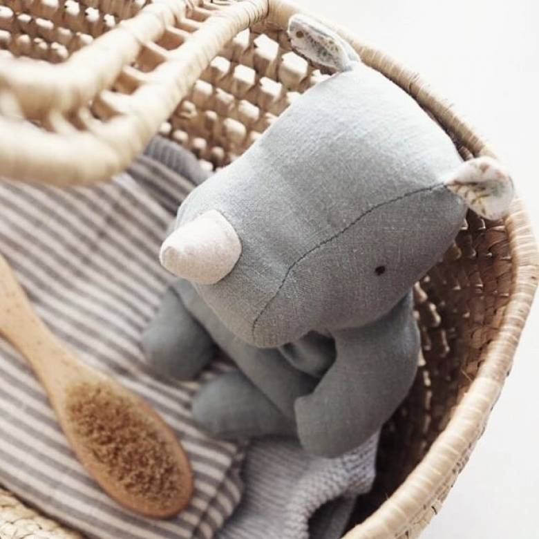 Rhino Soft Toy By Maileg