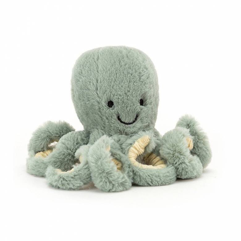 Baby Octopus In Odyssey Soft Toy By Jellycat