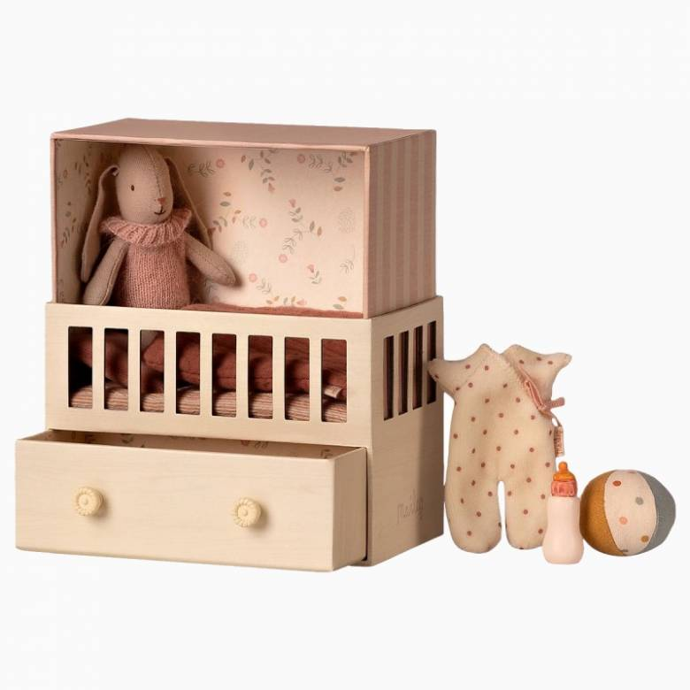 Baby Room WIth Micro Bunny Soft Toy Set 3+