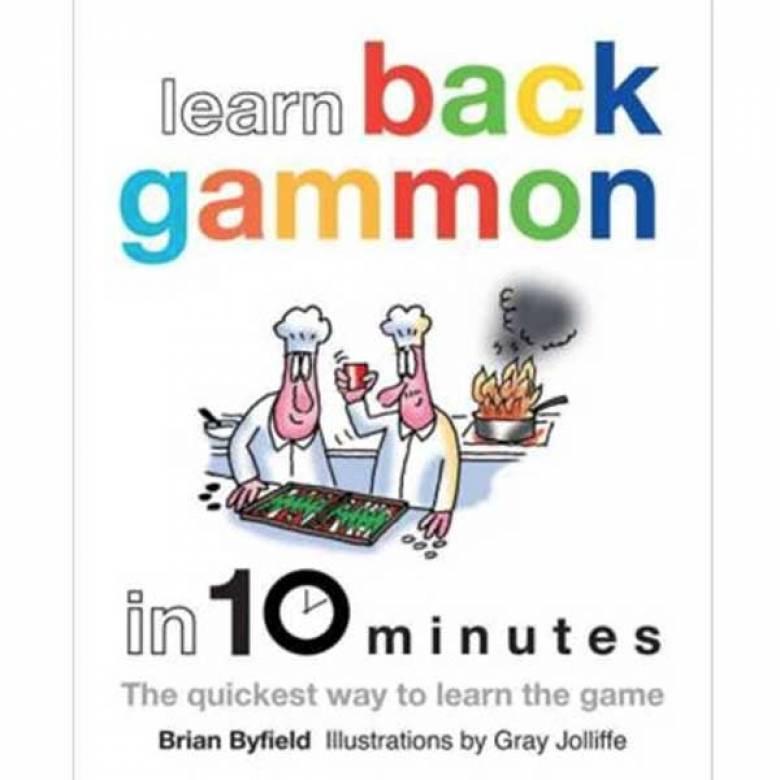 Learn Backgammon In 10 Minutes Hardback Book