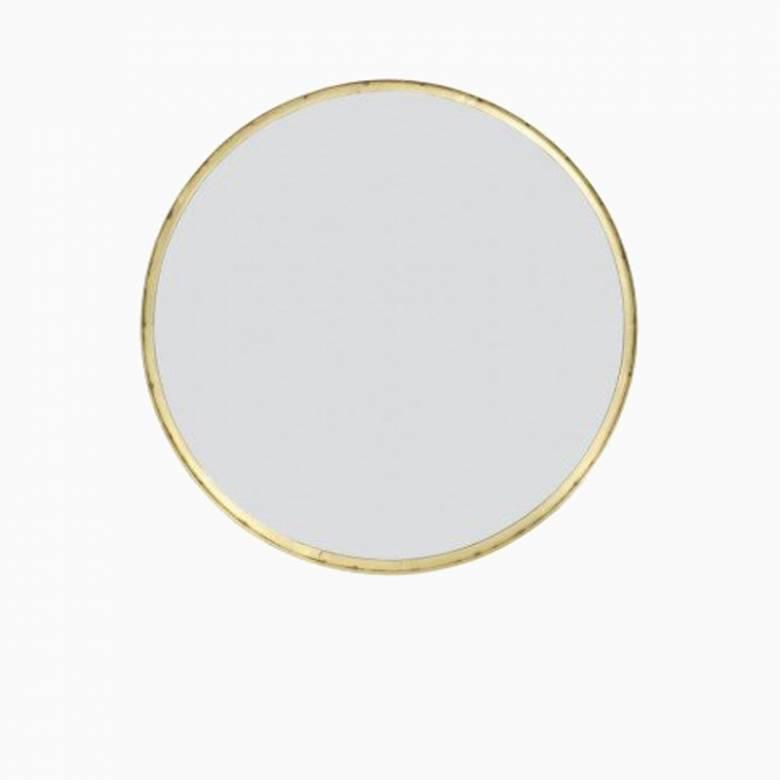 Bait Circular Metal Smooth Gold Mirror 60cm