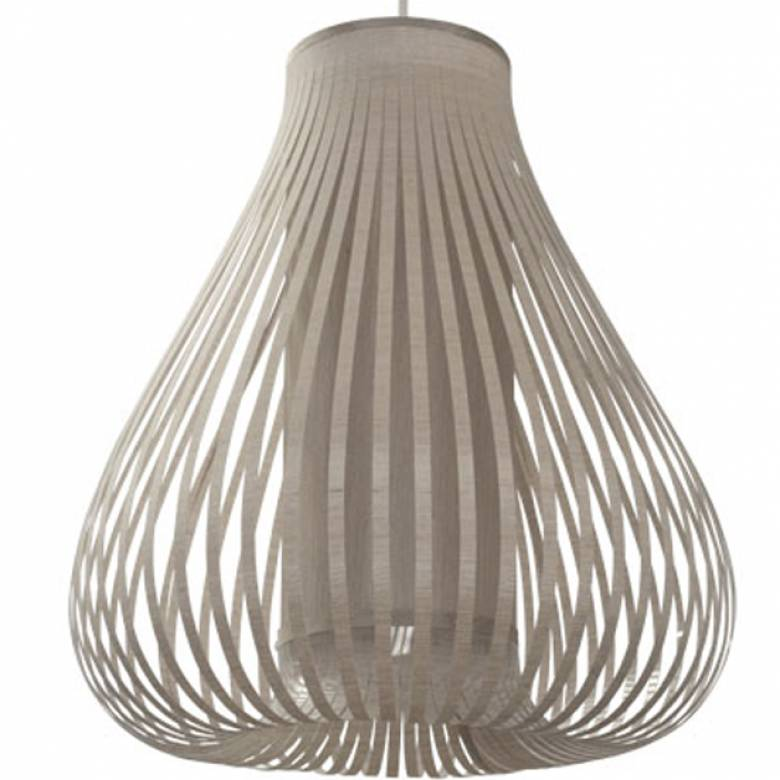 Taupe Balloon Hanging Shade