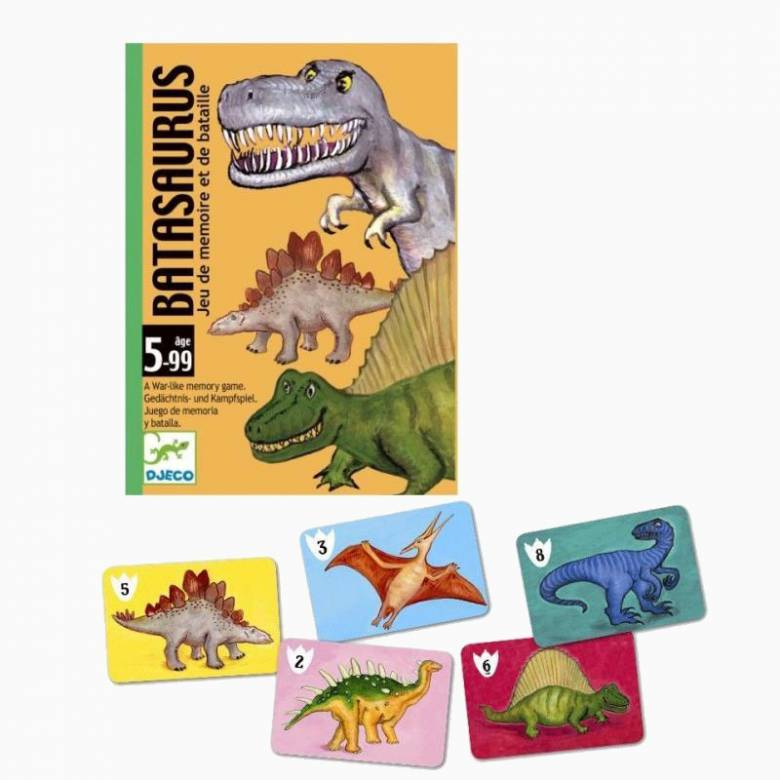 Batasaurus Card Game By Djeco 5+