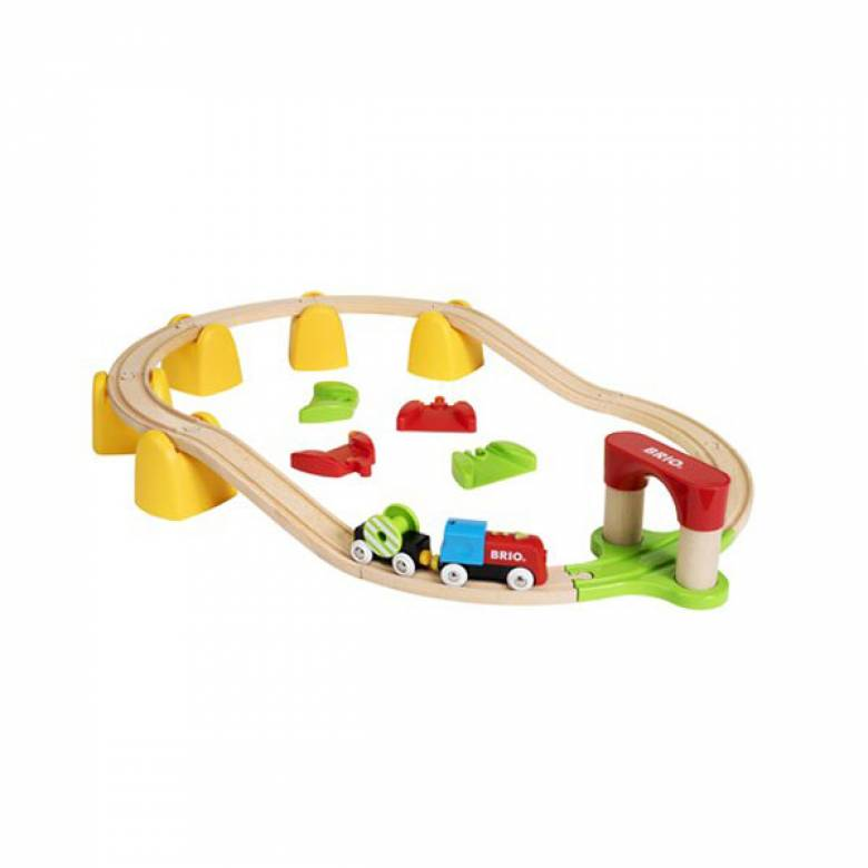 My First Railway Battery Train Set BRIO® Wooden Railway Age 1.5+