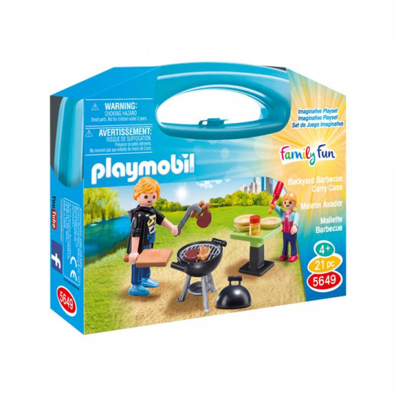 Barbecue Small Carrying Case Playmobil 5649