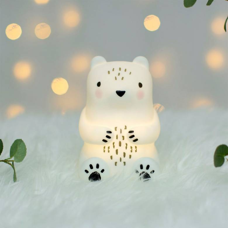 Little Bear Camp Night Light