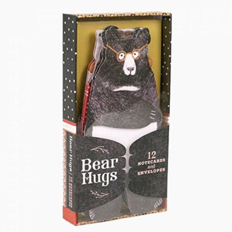 Bear Hugs - Set Of 12 Notecards & Envelopes