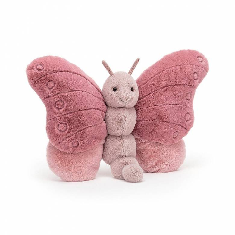 Beatrice Butterfly Pink Soft Toy By Jellycat