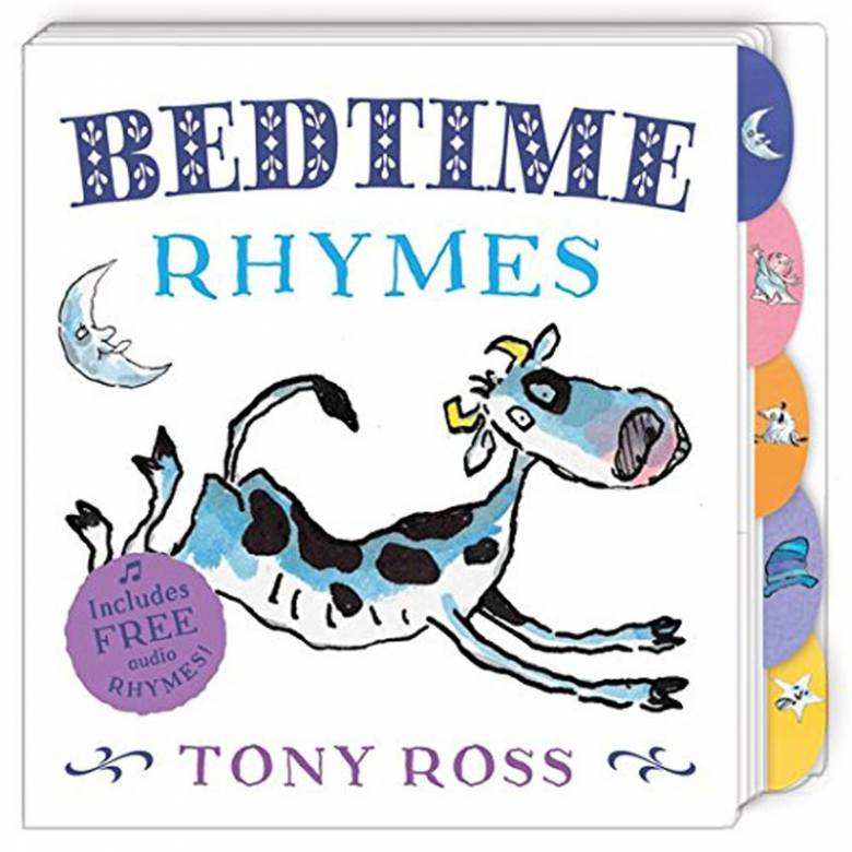 Bedtimes Rhymes By Tony Ross - Board Book
